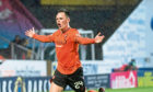 Lawrence Shankland was United's key man during title triumph