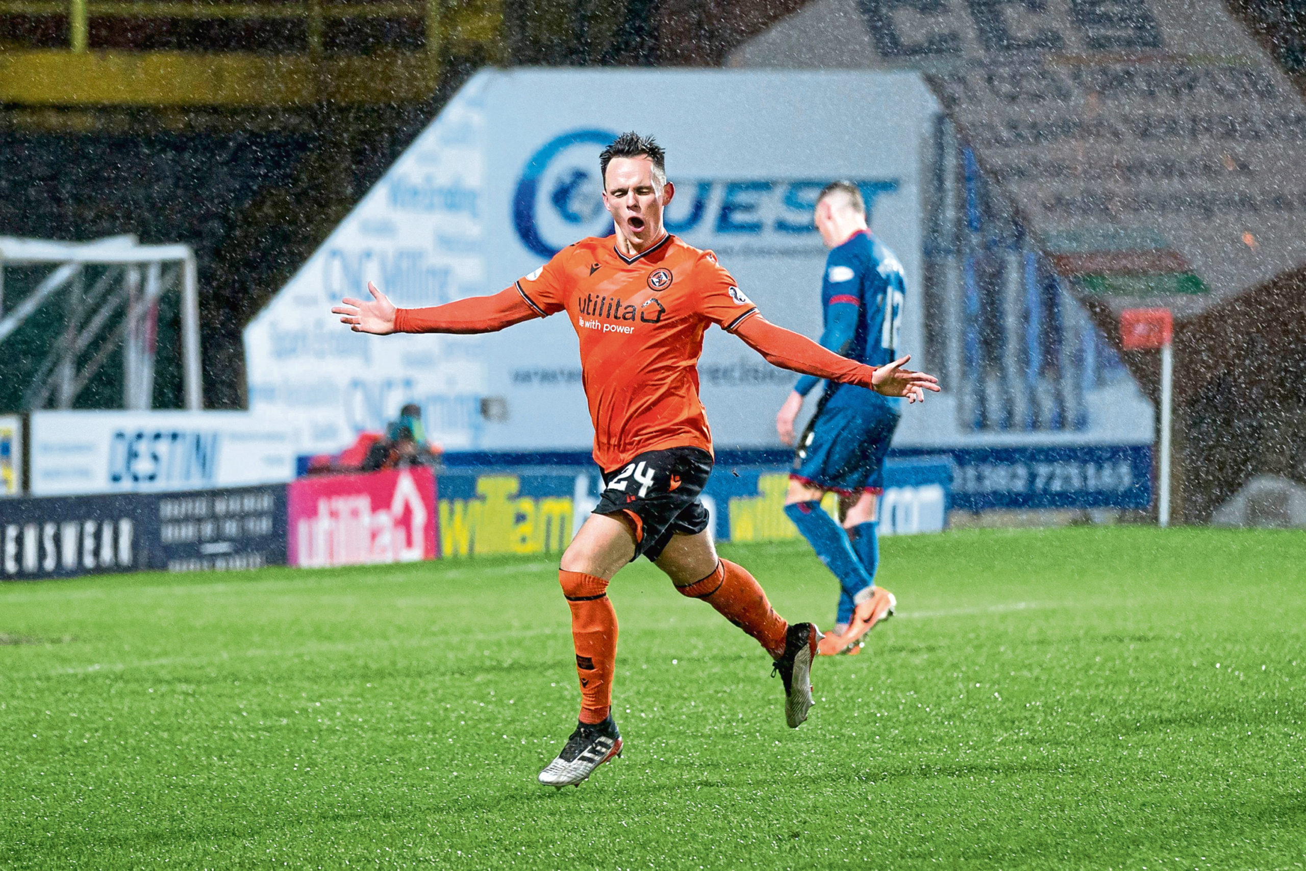 Lawrence Shankland's form at United has caught the eye of clubs north and south of the border.
