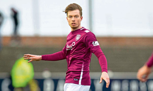Craig Wighton in action for Arbroath.