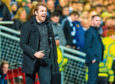 DUNDEE, SCOTLAND - DECEMBER 27: Dundee Utd Head Coach Robbie Neilson during the Ladbrokes Championship match between Dundee Utd and Dundee at Tannadice Park on December 27, 2019 in Dundee, Scotland. (Photo by Ross Parker / SNS Group)