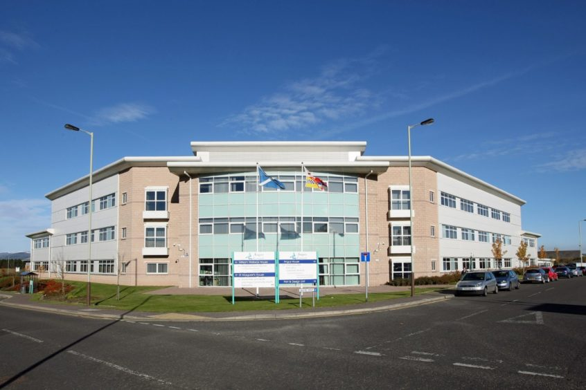 Angus House, the council's headquarters in Forfar.