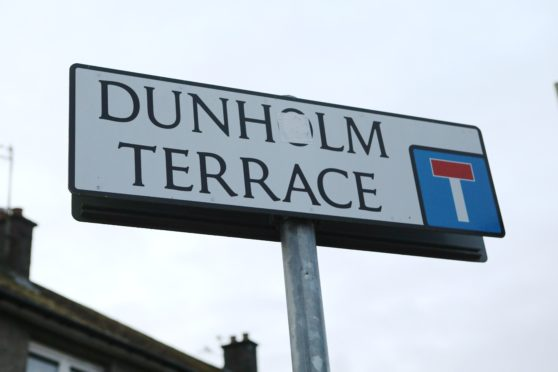 John Drinnan is alleged to have used a bladed knuckleduster on Dunholm Terrace.