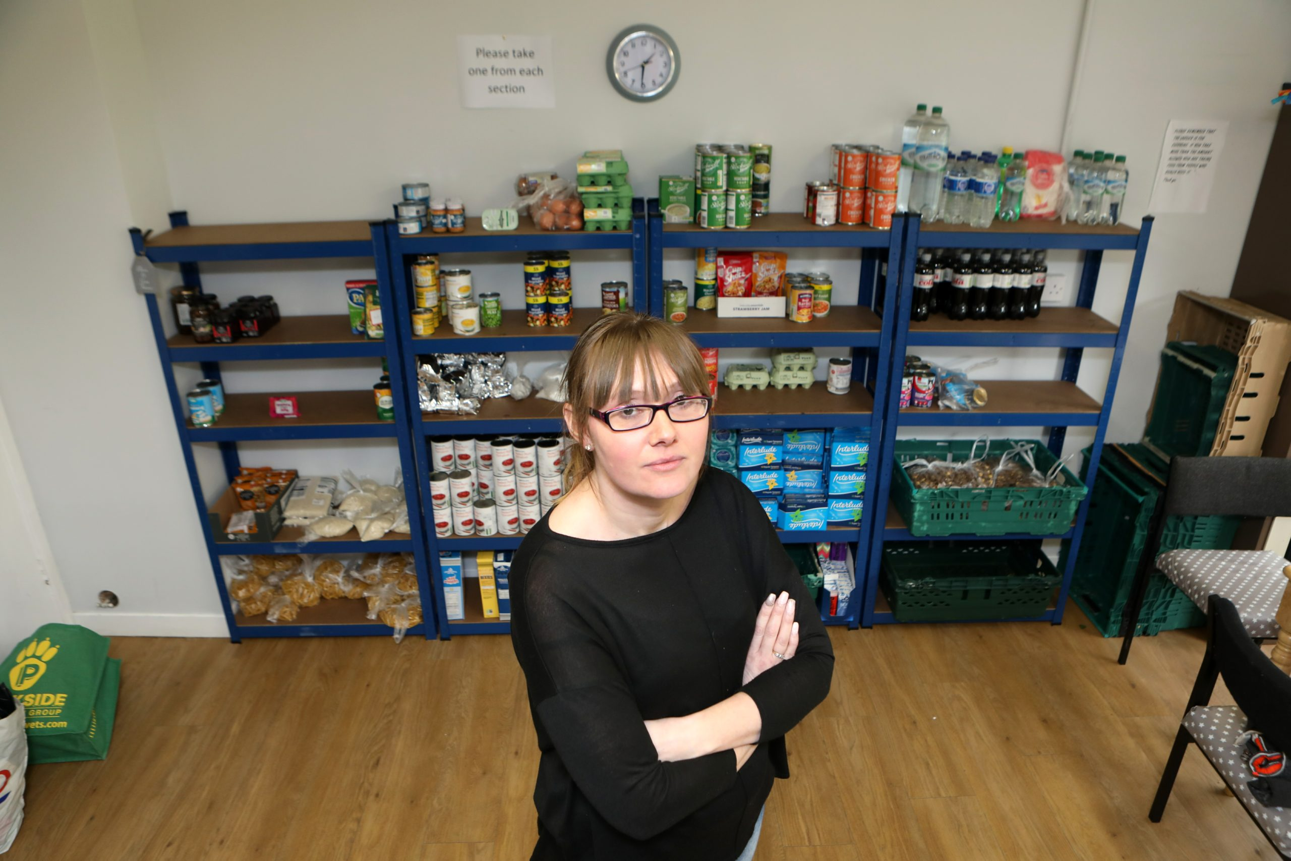 Samantha Bruce of Lochee Community Larder.