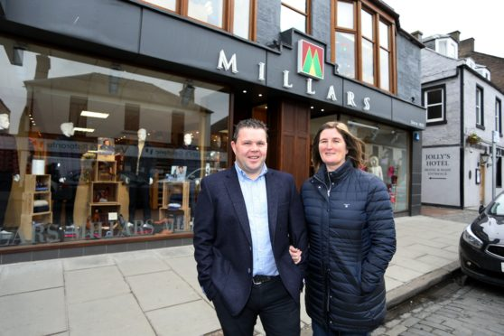Millars owners Jonny and Kerry Lyn Booth.