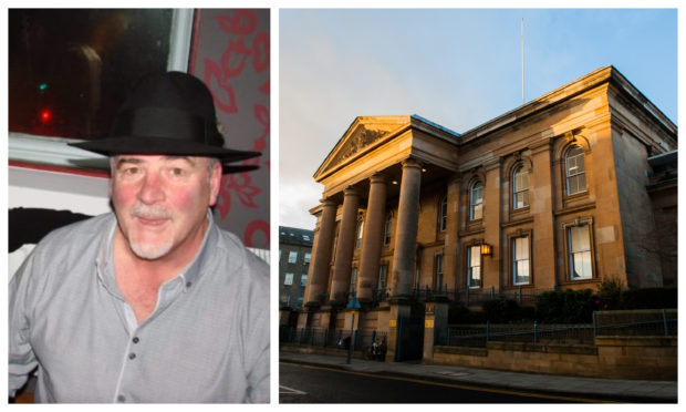 Ian Wilson appeared at Dundee Sheriff Court.
