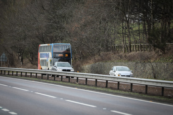 The incident took place on a number 39 bus.