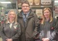 Richard McCready visits the Co-Op on Brook Street.