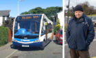 Local resident Alan Anderson is concerned about buses fitting down Kenmore Terrace.