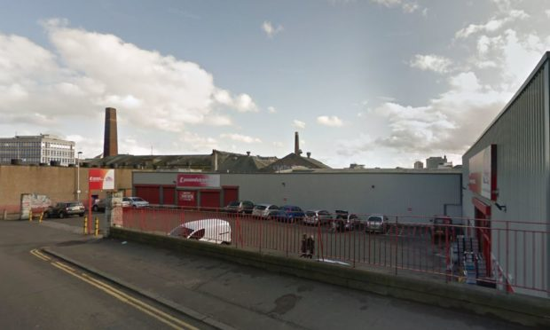 The Poundstretcher store  in Lochee Road.