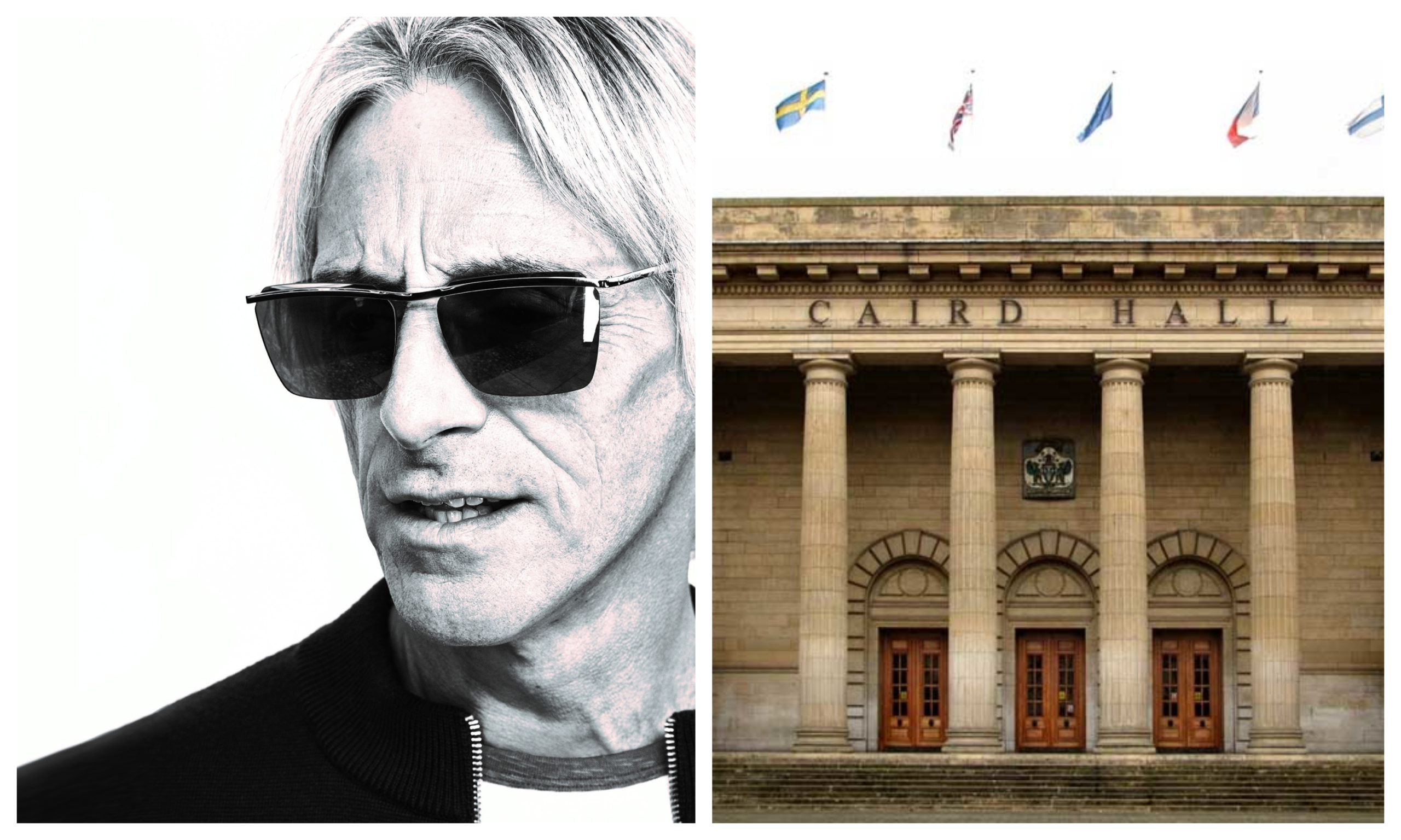Paul Weller will play at the Caird Hall in November.