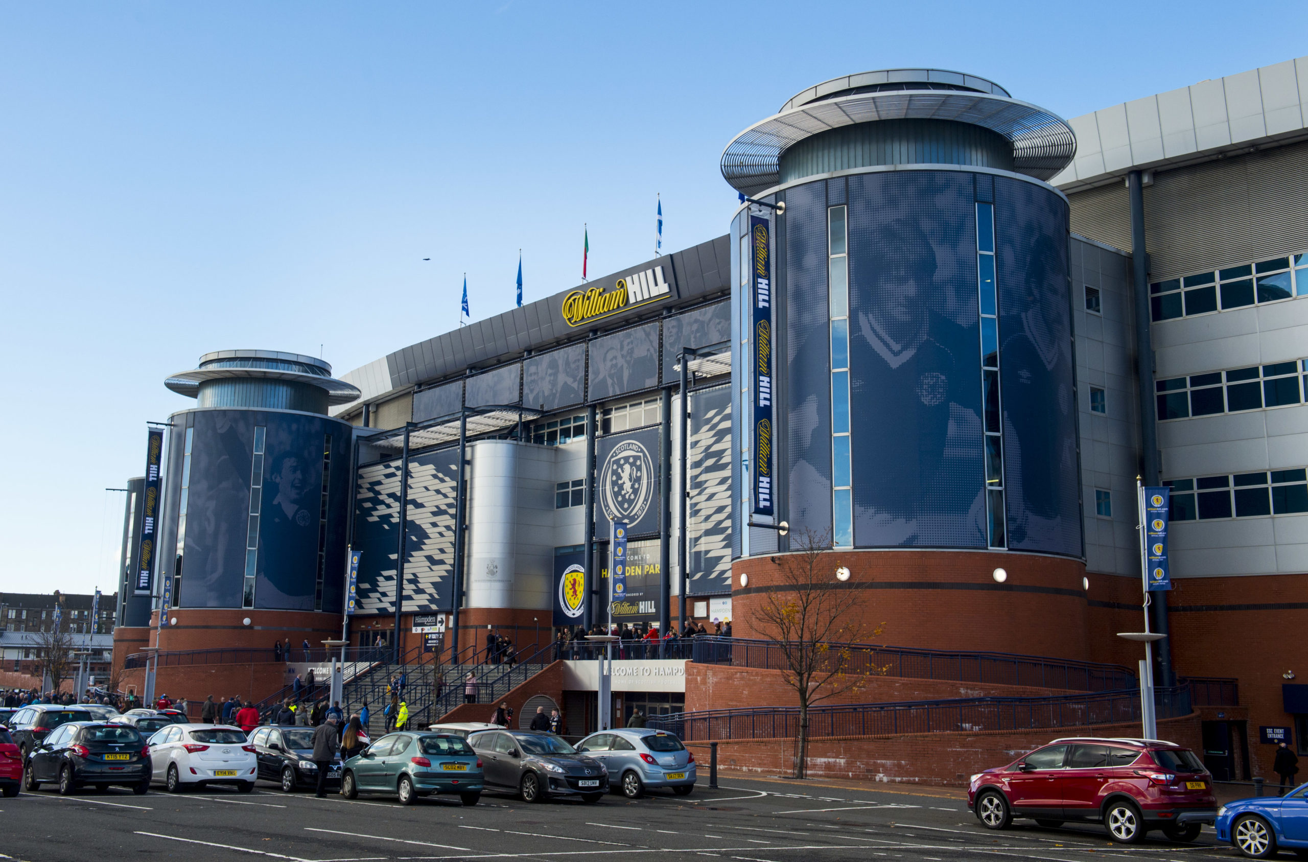 Hampden chiefs have launched disciplinary action against Hearts and Thistle