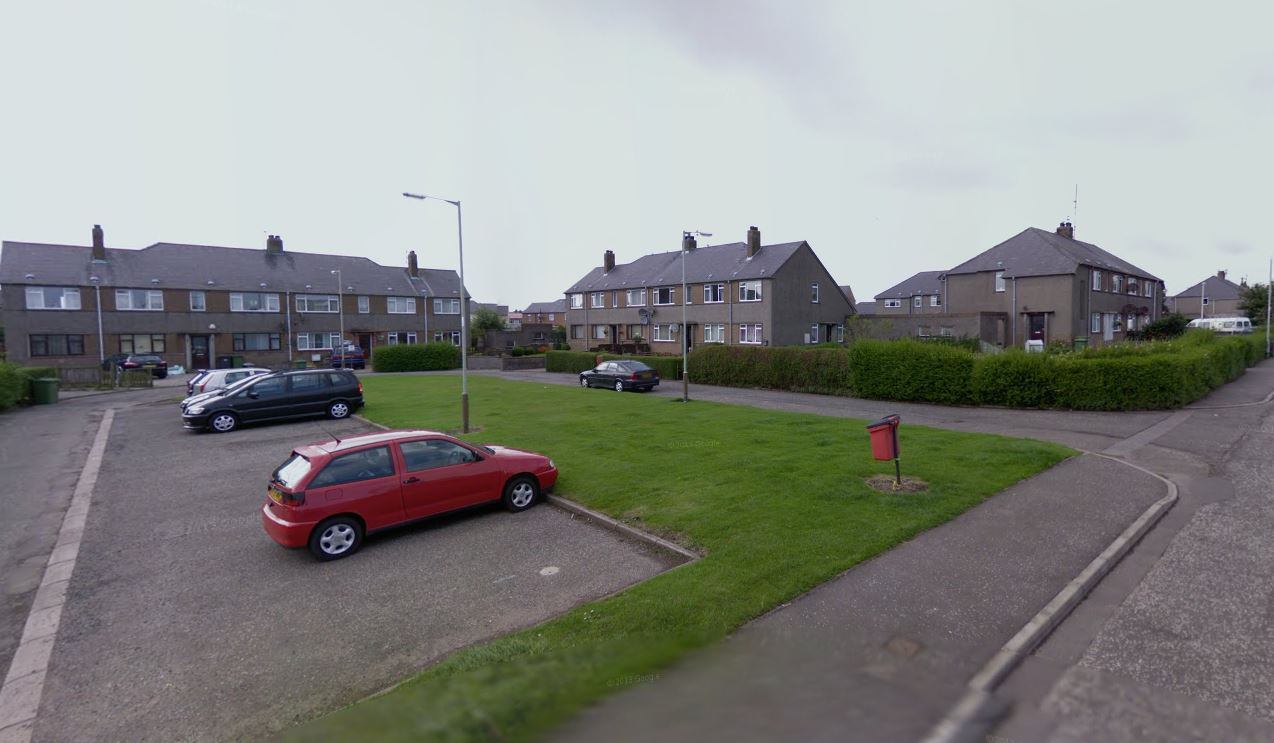 Abbotsford Road in Arbroath (stock image).