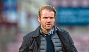 Robbie Neilson's players are on furlough during football shutdown