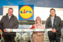 Alistair Calder, Senior Construction Consultant, Ginny Lawson from Brooksbank and David Durie, Senior Consultant.