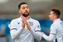 Kane Hemmings has refused to take a pay cut at Dundee