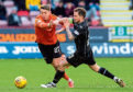 Louis Appere in action for Dundee United at Dunfermline last weekend.