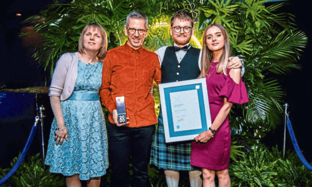 Ashton McGill,has won UK small firm of the year at the Xero Awards.