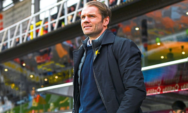 Robbie Neilson's side will be in the Premiership next season