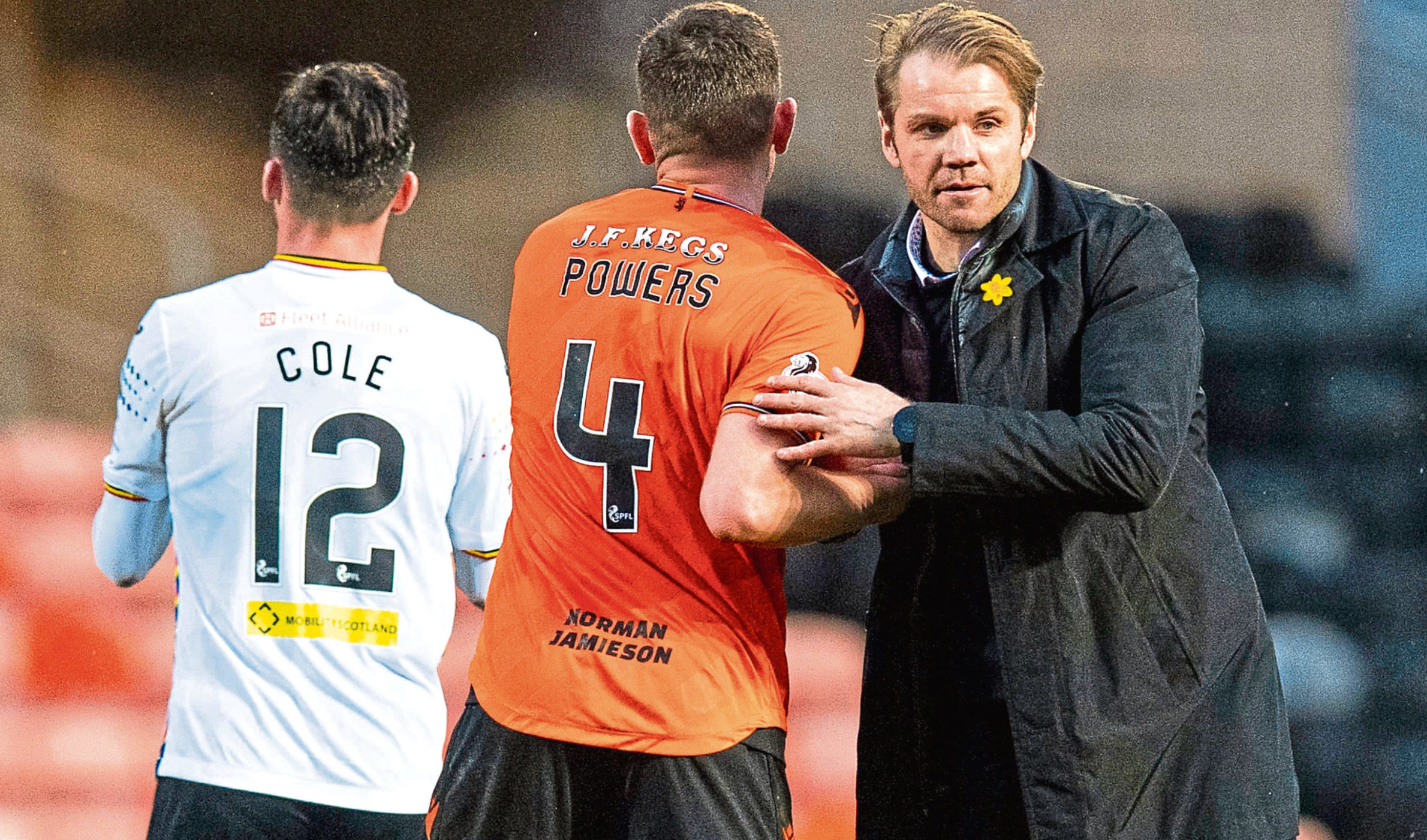 Boss Robbie Neilson (right) will expect an upturn in form from his team.