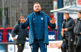 Dundee have to be realistic about finances, warns manager James McPake