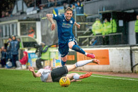 Virus crisis knocks Dundee's run of good form for six as footy fixtures grind to a halt