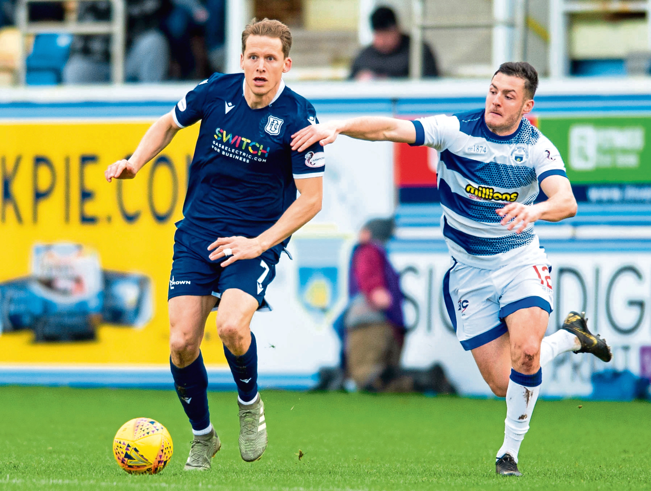 Berra made an impact during his short spell at Dundee