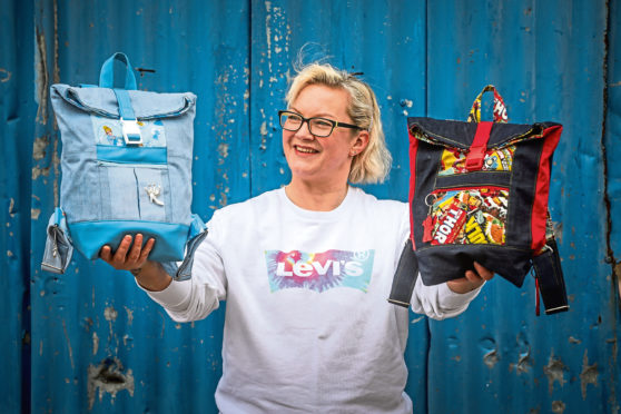 Melanie Gilligan is running a competition for kids to design their own rucksack.
