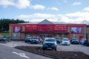 The Harry Corry store on Kingsway East Retail Park, Dundee