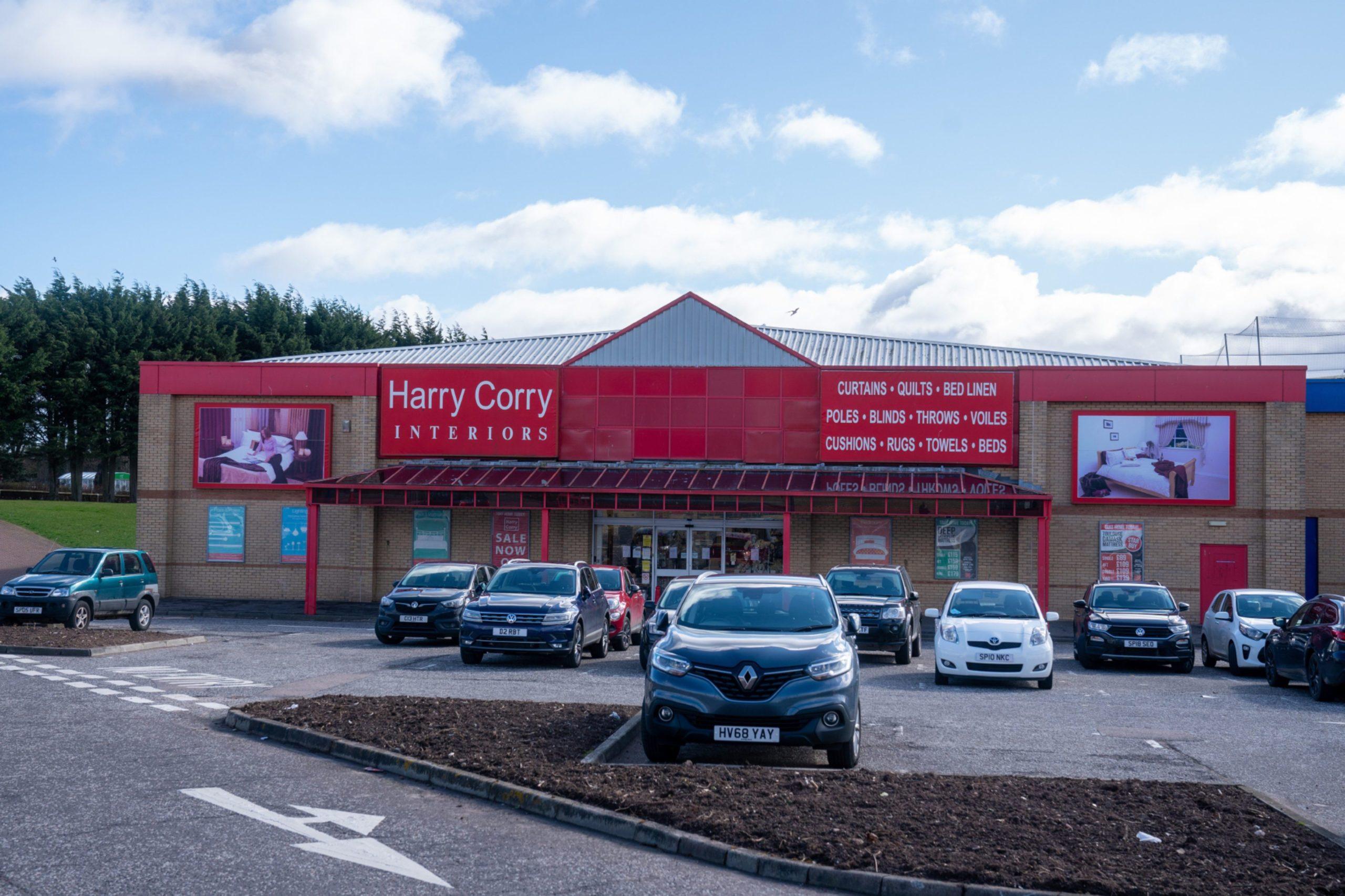 A GV of the Harry Corry store on Kingsway East Retail Park, Dundee CR0020507 Pic Kenny Smith, Kenny Smith Photography Tel 07809 450119