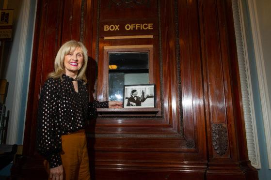 Caird Hall manager Susan Gillan.