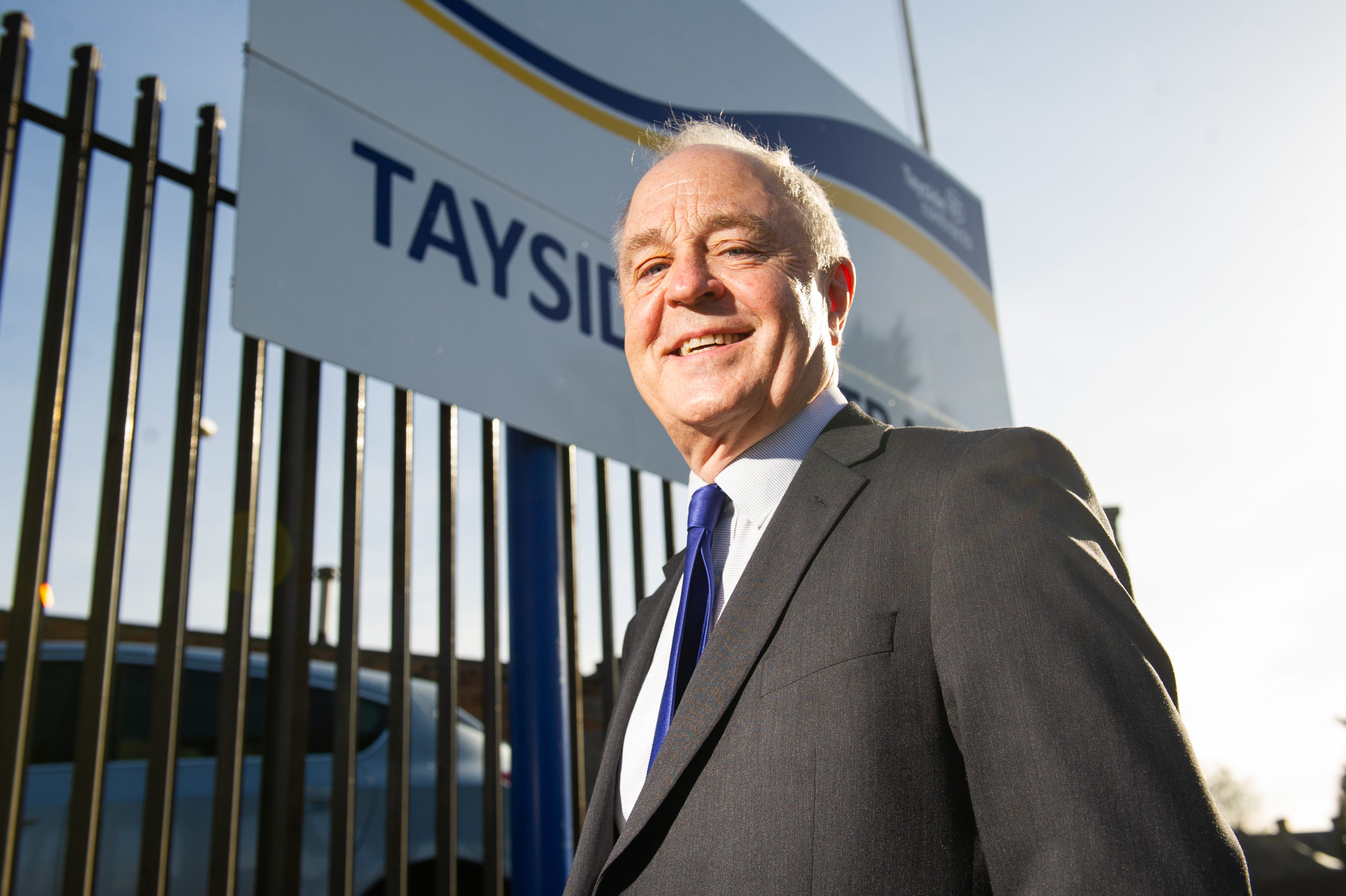 Iain Waddell, managing director of Tayside Contracts (Picture: Kim Cessford/ DCT Media)