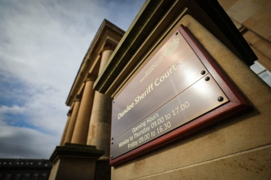 Courier/Tele News, spec pic. Pic shows; General view of exterior Dundee Sheriff Court. Saturday, 14th September, 2019. Kris Miller/DCT Media.