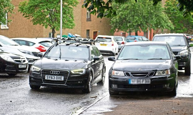 Pavement parking could remain legal in some streets.