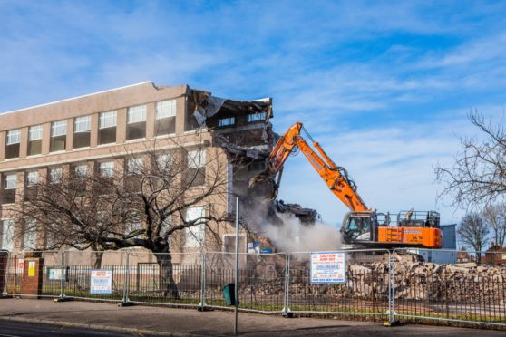 The former St Vincent's Primary School was demolished last year