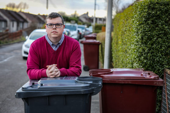 """Simon has been left """"annoyed and digusted"""" by the council's lack of action."""