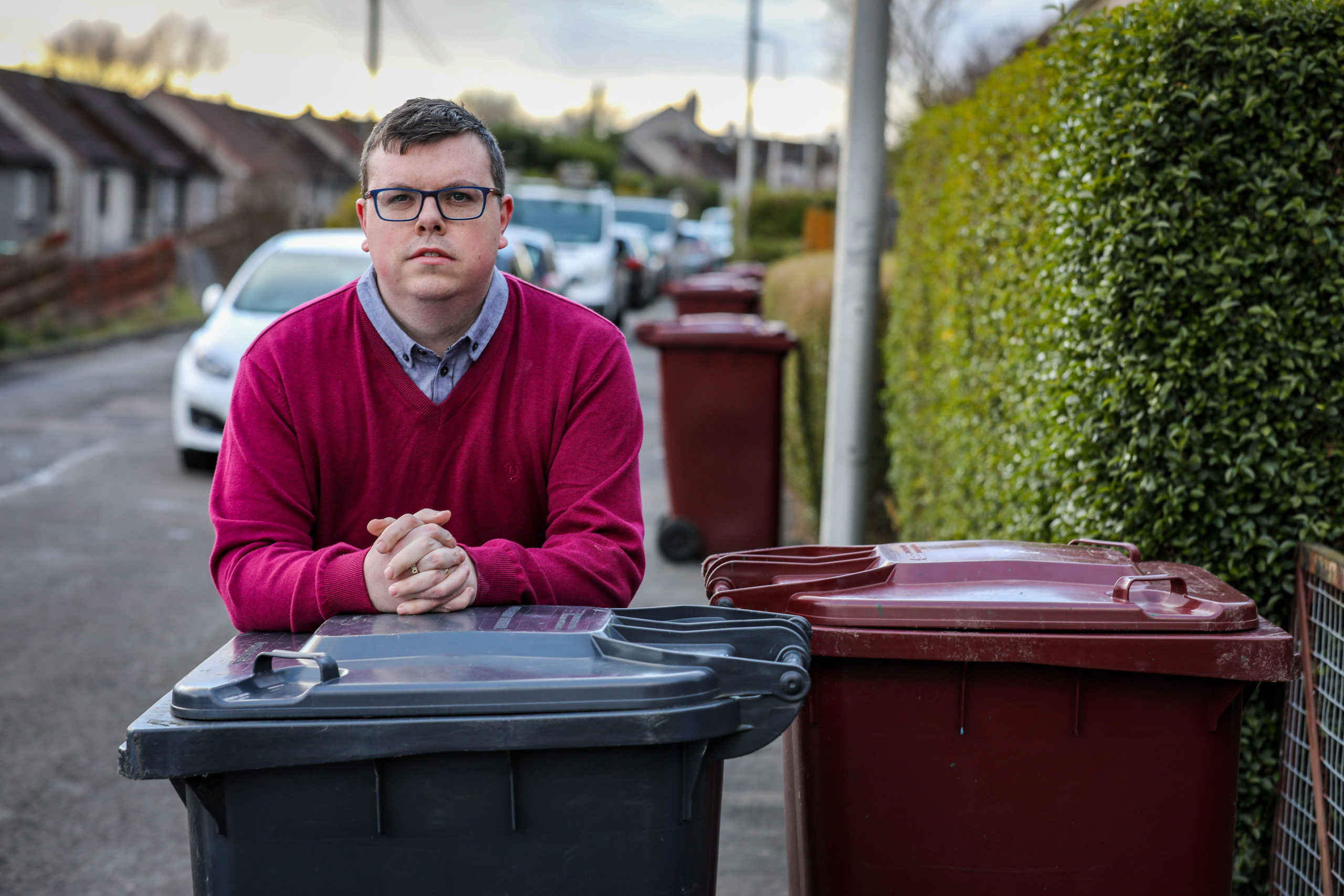"Simon has been left ""annoyed and digusted"" by the council's lack of action."