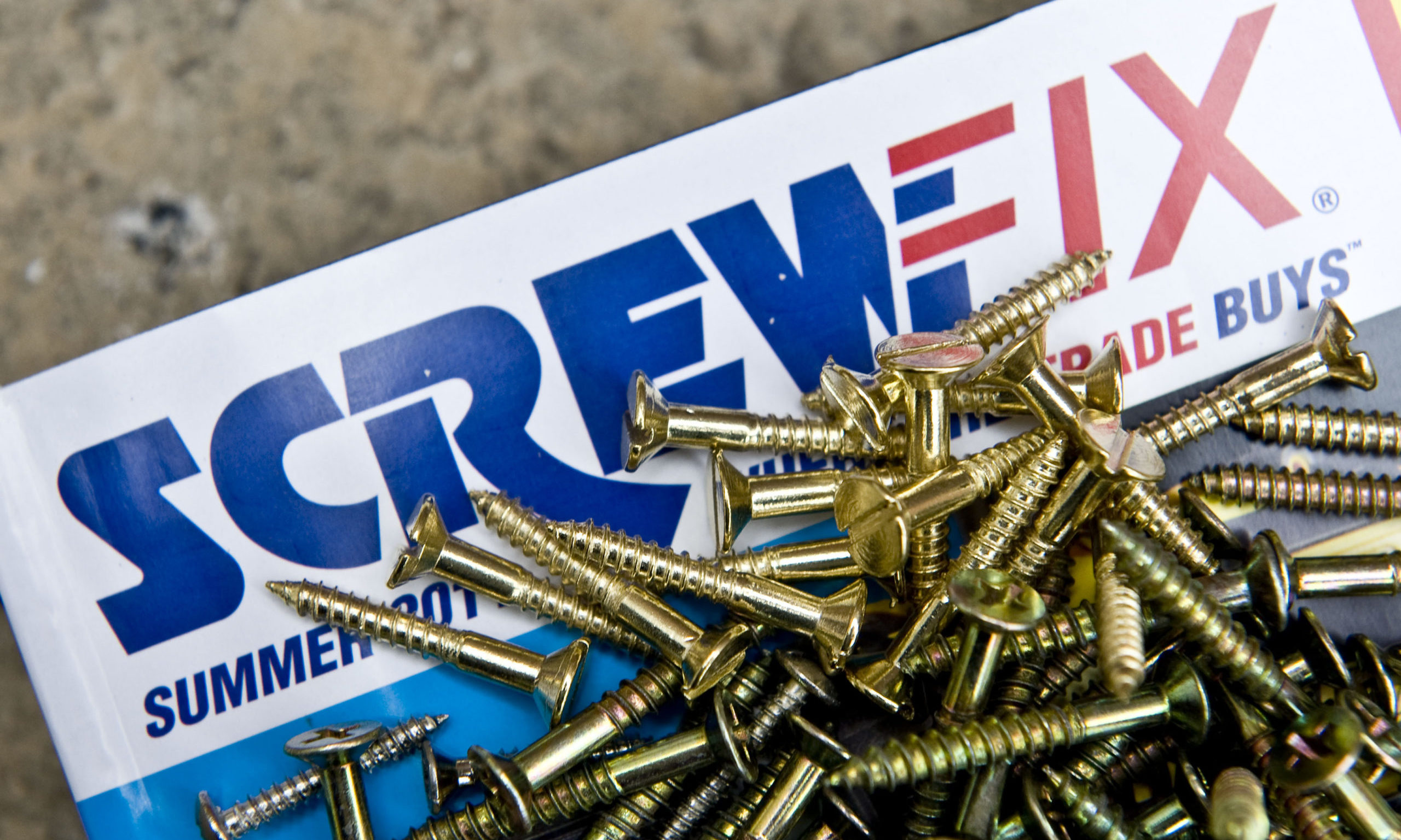 Screwfix, owned by Kingfisher which is a ftse 100 company. PRESS ASSOCIATION photo. Picture date: Friday 28th July 2011. Photo credit should read: Ian West/PA