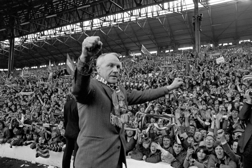 Bill Shankly is an Anfield icon