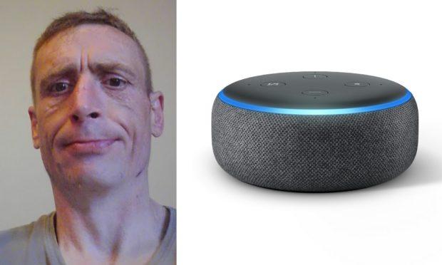 Raymond Henderson stole an Amazon Echo Dot from his ex.