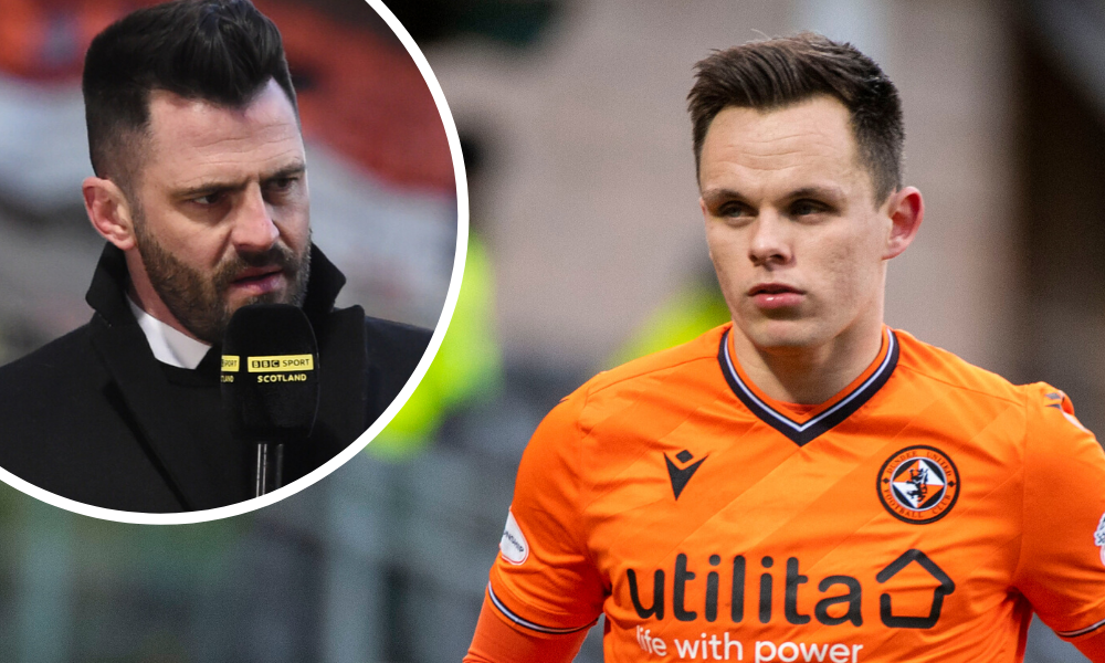 Ex-Dundee United star Steven Thompson is a fan of Lawrence Shankland