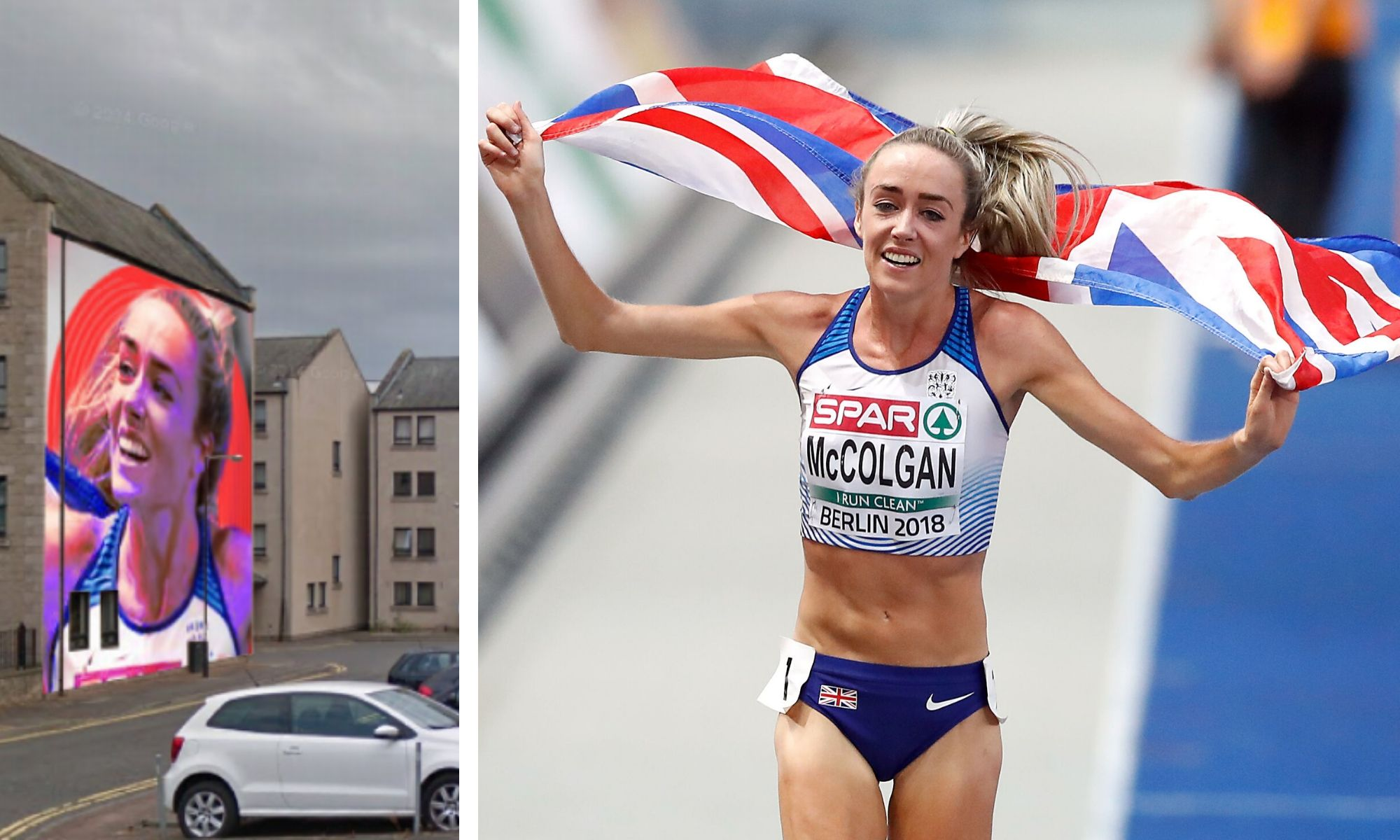 The proposed mural will celebrate the achievements of runner Eilish McColgan.