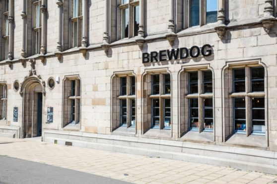 The Dundee BrewDog pub, in Panmure Street. (stock image).