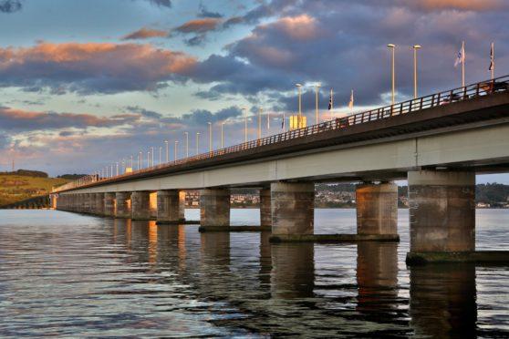 The Tay Road Bridge. (Library image).