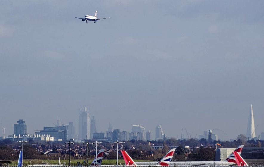 Heathrow Airport in London is the world's second-busiest.