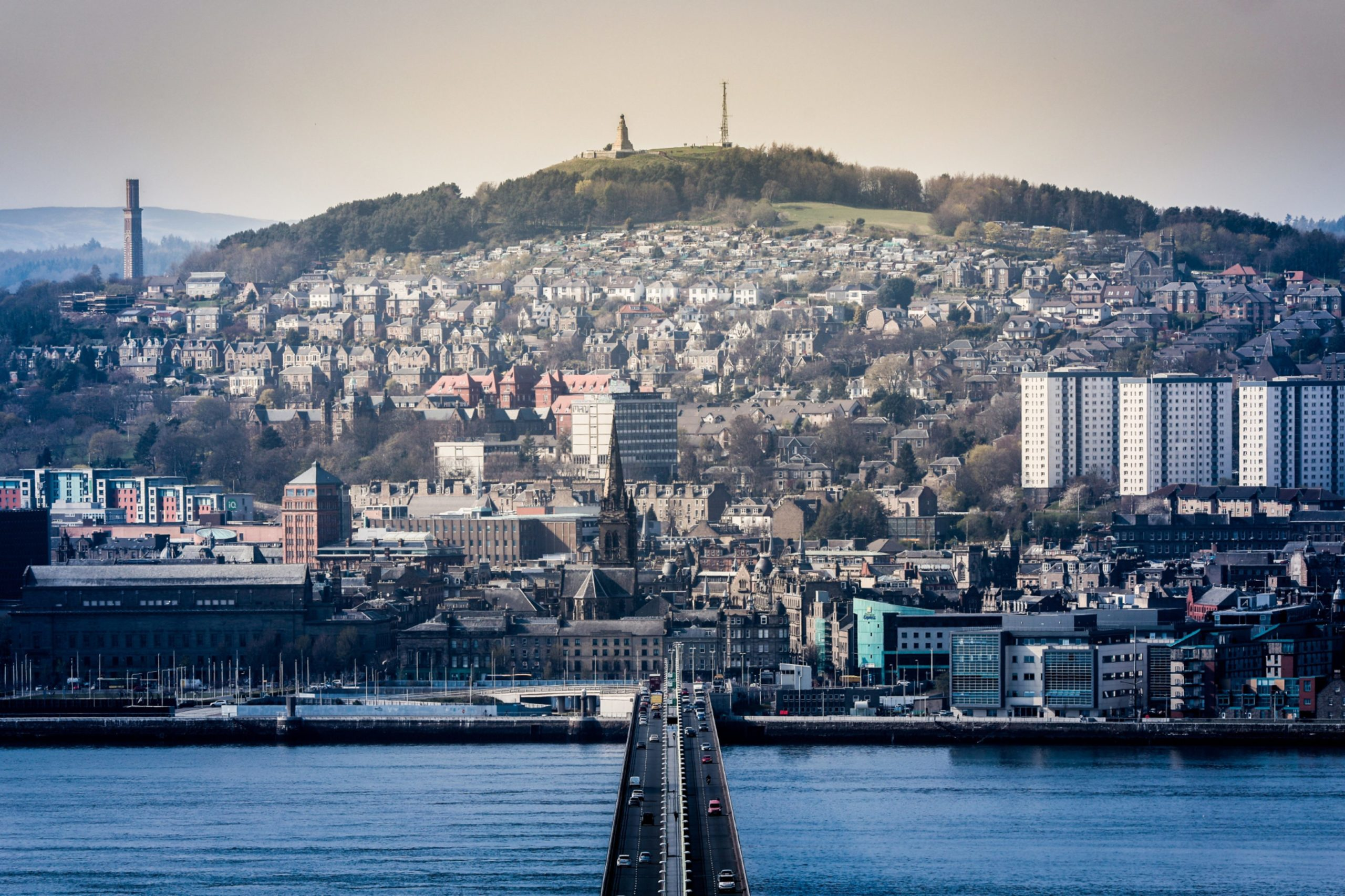 Dundee's population is set to fall over the next 25 years.
