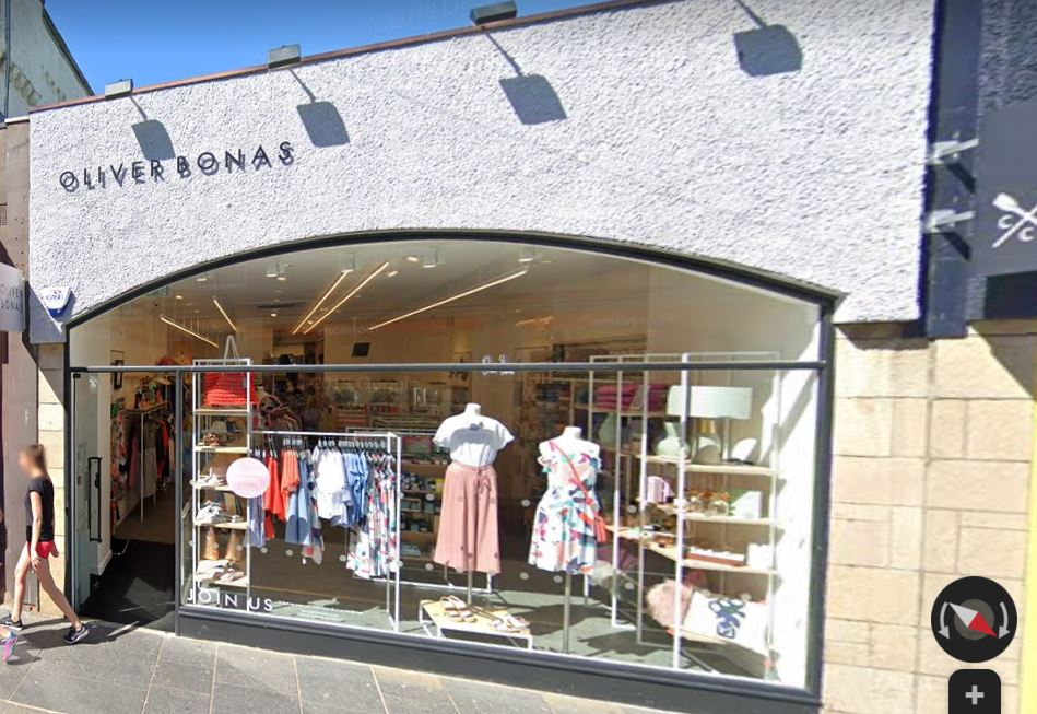 The Oliver Bonas store in St Andrews. (Stock image).