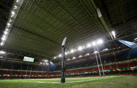 The Principality Stadium in Cardiff.
