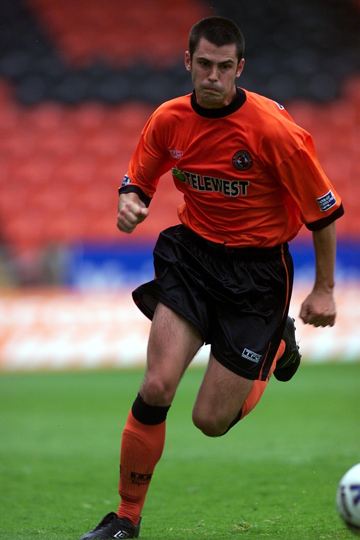 Steven Thompson made his breakthrough in United's senior ranks