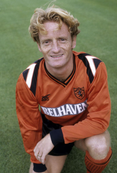 Dave Bowman during his United playing days