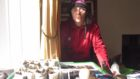 Kate Treharne in one of her Lockdown Gardening videos.
